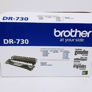 Genuine Brother DR730 Drum Unit 12,000 Page Yield, DR-730 - Free Shipping