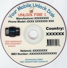 Massive Phone Unlock Unlocking Software DVD X 2 and Mobile Unlock Codes 24 GB