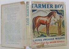 LAURA INGALLS WILDER Farmer Boy LATER EDITION