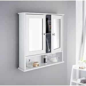 NEW Maine Bathroom Double Door Cabinet & Shelf