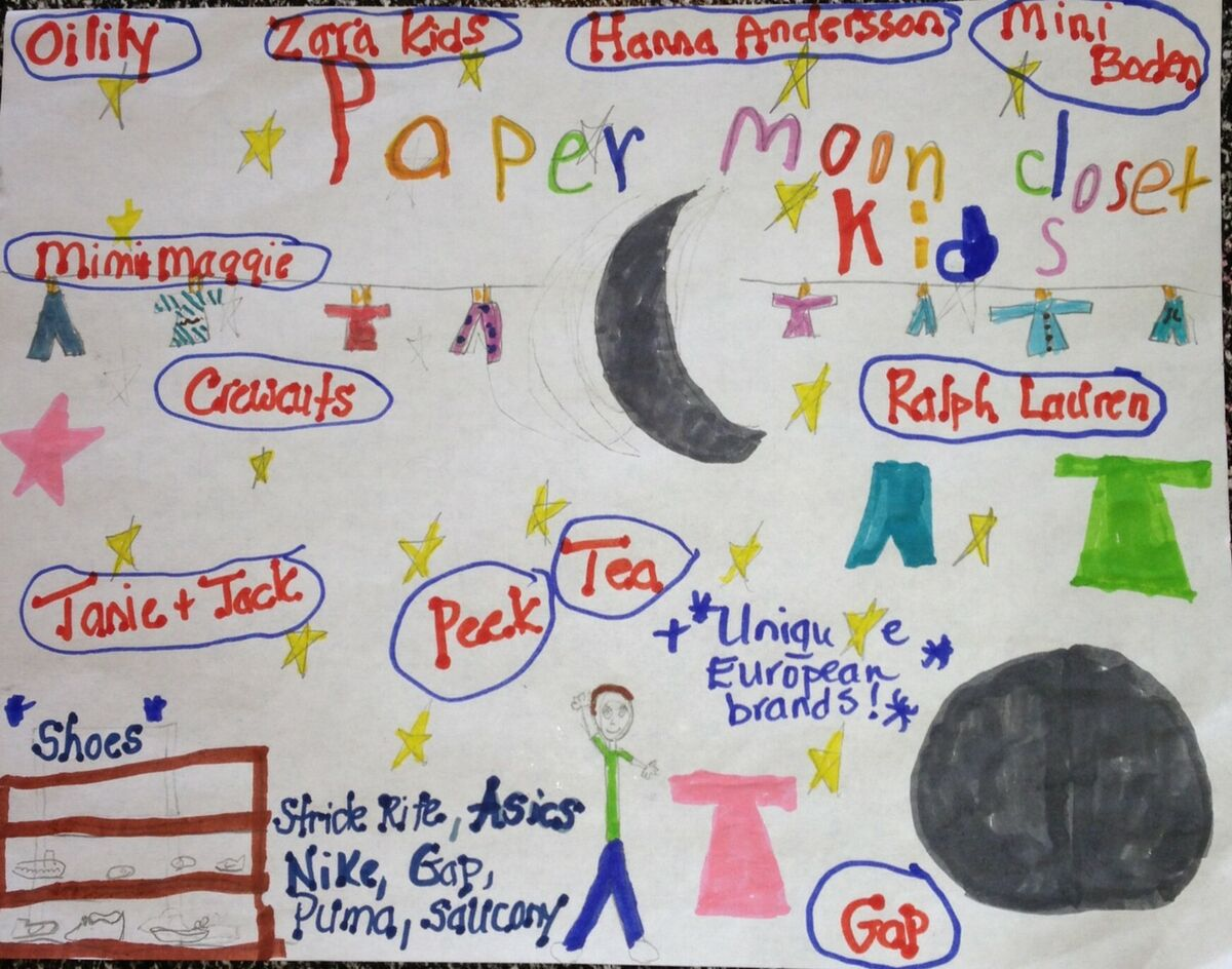 Paper Moon Kids Closet