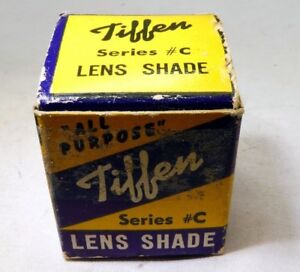 empty box only for vintage Tiffen Seres #C lens shade hood
