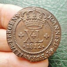 Brésil - Jean, Prince Régent - 40 Reis - 1812 B  Bahia
