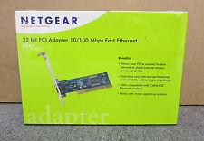 NETGEAR FA311 Network Interface Card 10/100Mbps PCI 1 x RJ45 New Sealed