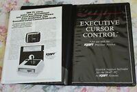 VTG 1984 Kraft Precision Joystick Executive Cursor Control MANUAL ONLY IBM PC