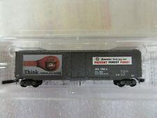 Model Railroad - Z Gauge Scale - Micro Train Lines - Smokey Bear Forest Fire Car