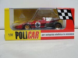 POLICAR FERRARI 312B2 'SILVERSTONE 1971' RED #5  CAR05B 1:32 SLOT BNIB LATEST