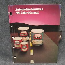 1981 ACME Automotive Finishes Color Manual Guide Chrysler GM Ford Dodge Mercury