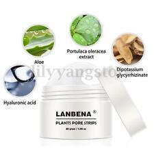LANBENA Remover Nose Mask Pore Strip Black Mask Acne Deep Cleansing + 40 Paper