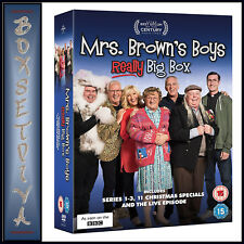 MRS BROWNS BOYS  REALLY BIG BOX SERIES 1 - 3 PLUS XMAS SPECIALS *BRAND NEW DVD*
