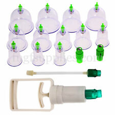 12 Chinese HEALTHY Body Cupping Set Magnet Massage Suction Vacuum Therapy Cups