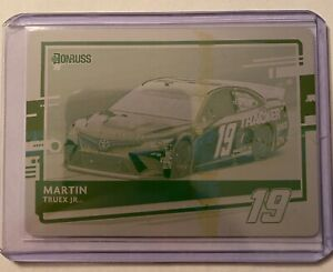 Martin Truex Jr 2021 Donruss Printing Plate One of One!