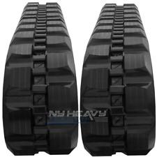 Two Rubber Tracks For Takeuchi TL230 TL230-2 320X86X52 Block Tread Free Shipping
