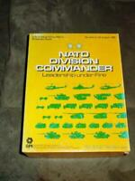 SPI 1979 - NATO Division Command - Leadership under Fire (Detergent Box) (Punch)