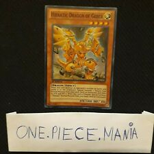 Yu-gi-oh! Hieratic Dragon Of Gebeb GAOV-EN019 US!!