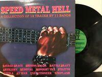 Speed Metal Hell LP 1985 New Renaissance Records – GWD90516 EX/NM