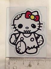 Zombie Hello Kitty Decal Sticker