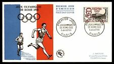 France & Colonies Used Olympics Stamps