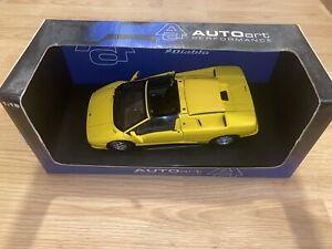 Autoart Lamborghini Diablo 70092 Roadster Yellow  1:18 Bix 18