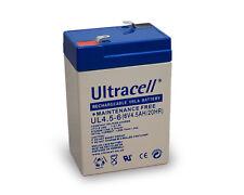 Blei-Akku (Ultracell); AKKU 6-4,5 (UL4.5-6) Ultracell
