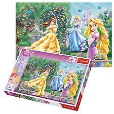 Trefl 260 Piece Kids Girls Disney Princesses Cinderella Aurora Jigsaw Puzzle NEW