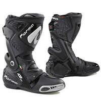 motorcycle boots | Forma Ice Pro racing black track motogp road race riding tech