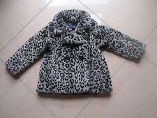 Lili Gaufrette Webpelzmantel Leopard, Mädchen, 4 Jahre