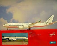 Herpa Wings 1:500 Airbus A340-500 Italian Air Force 530385 Modellairport500