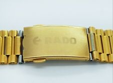 Rado Watch Stainless Steel Replacement Strap with Push Button Buckle 18mm