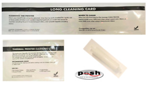 ZXP Series 3 Cleaning Kit- Long Card, Feeder Card, & New Roller. Same Day Ship!