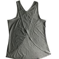 Womens Vest Workout Tank Tops T-Shirt Sport Gym Fitness Yoga Sleeveless Blouse