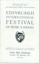 1954 In Mem Kathleen Ferrier Elisabeth Schwarzkopf Hotter Barbirolli programme