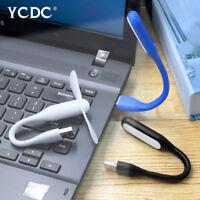PORTABLE MINI USB FAN & LED LAMP FLEXIBLE FOR PC LAPTOP POWER BANK PLUG IN B09F