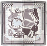 Hermes 2000 Grey White Puzzle II by Joachim Metz Twill 90