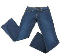 GAP 1969 Women's Jeans Perfect Boot Dark Wash Stretch Denim Size 28R (30x32)
