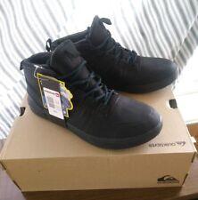 Quicksilver mid top patrol shoe boot sneaker black waterproof rain snow 7 mens a