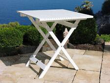 Balkontisch Weiss 70x70 cm Klapptisch  Beistelltisch Gartentisch NEU & OVP