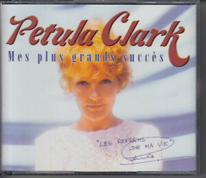 PETULA CLARK Mes Plus Grands Succes - Les Refrains De Ma Vie 2-DISC CD 2002 Pop