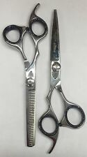 """6"""" Hair (Cutting+Thinning) SET Barber Scissors Shears LEFT HANDED MAGNUM"""