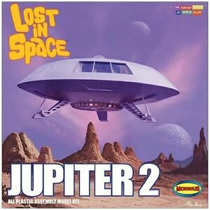 Moebius Models 1/35 SCALE Lost in Space Jupiter 2 Spaceship KIT#913~NEW in BOX