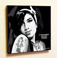 Amy Winehouse Painting Decor Print Wall Art Poster Pop Canvas Quotes Decals