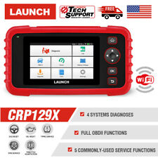 LAUNCH X431 CRP129X Car Fault ABS SRS Reset Tool OBD2II Code Reader TPMS Scanner