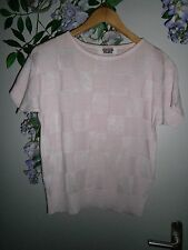 Pull Top  RODIER 36 % Coton Rose pale T.40 TBE
