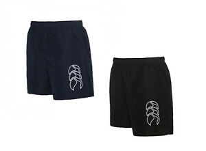 Canterbury Mens Classic Tactic Shorts, Black Navy, from S to 3XL