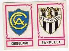 figurina CALCIATORI PANINI 1982/83 NEW numero 574 CONEGLIANO FANFULLA
