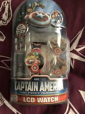 Marvel Studios / Captain America The First Avenger LCD Watch BNNO