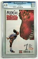 Moon Girl and Devil Dinosaur 1 CGC 9.8 Cover A 1st Print Amy Reeder Cover