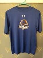 Boise State Broncos Under Armour Blue T-Shirt Mens Small S Nice