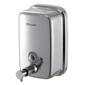 Wall Mounted Commercial Soap Dispenser 304 Stainless Steel Soap Dispenser 800ml