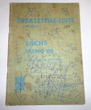 Ersatzteile Liste Nr. 422.6/3 Sachs Stamo 100